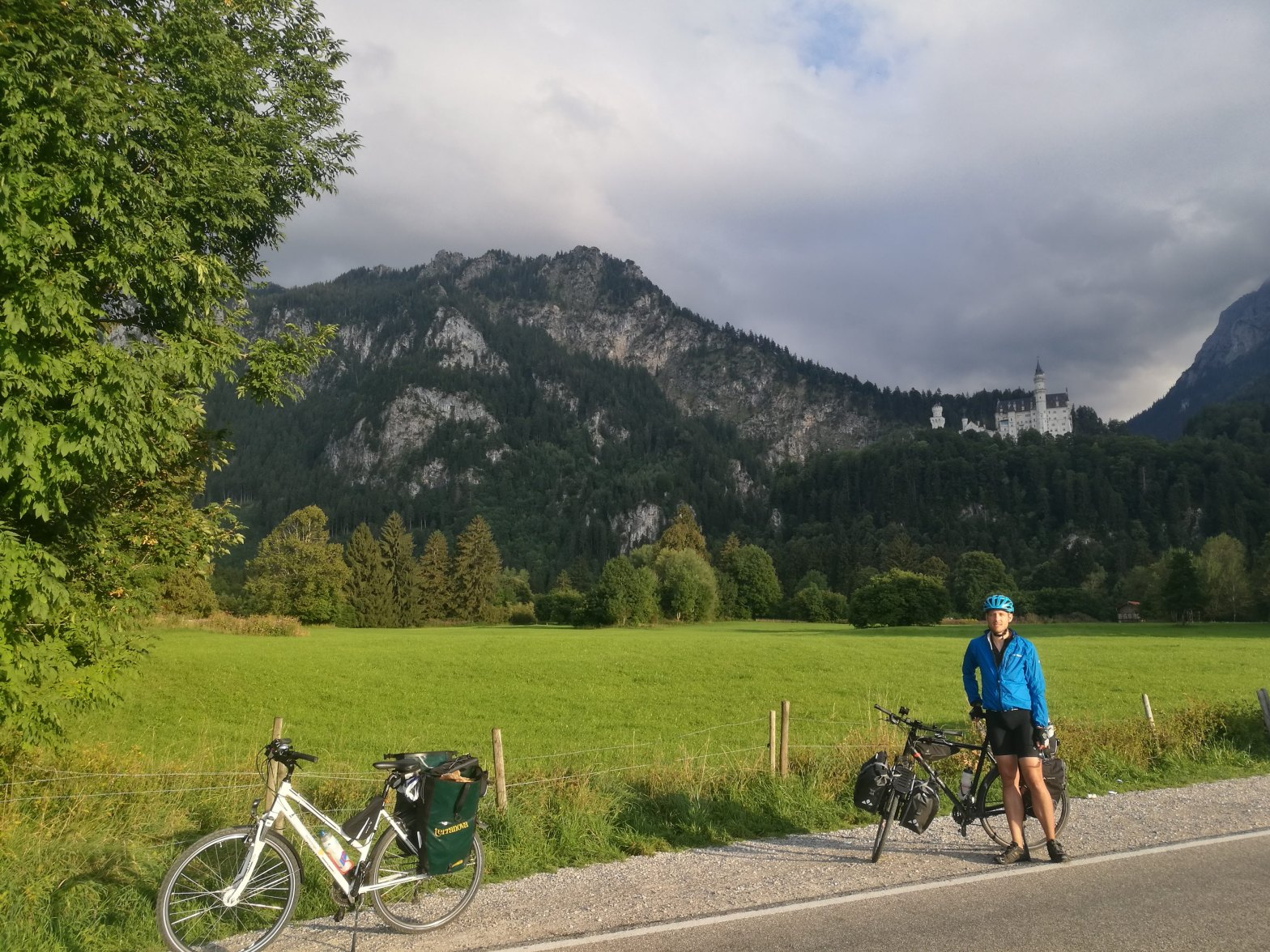 Neuschwanstein in the background